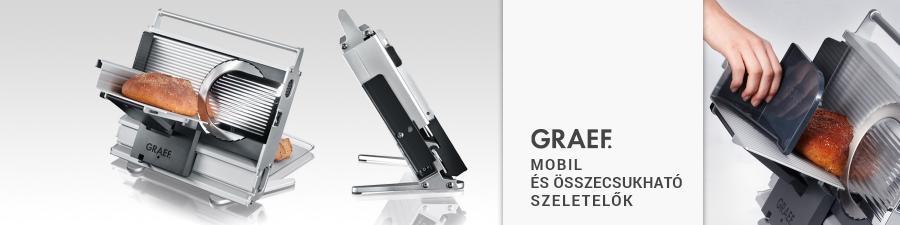 Graef mobil szeletelők
